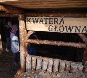 Zaproszenie na uroczystość otwarcia ścieżki edukacyjnej - Leśna Kwatera Legionistów