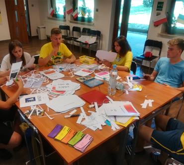 Polsko – ukraińska wymiana młodzieży czyli sami tworzymy metody edukacyjne